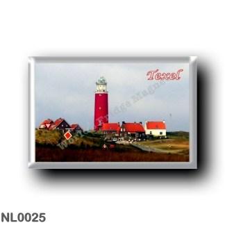 NL0025 Europe - Holland - Frisian Islands - Texel - lighthouse