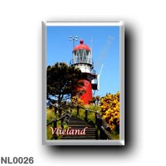 NL0026 Europe - Holland - Frisian Islands - Vlieland - lighthouse