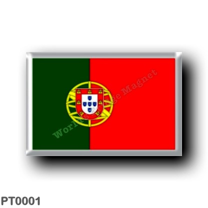 PT0001 Europe - Portugal - Portuguese flag