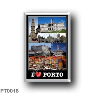 PT0018 Europe - Portugal - Porto - I Love