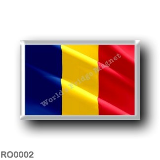 RO0002 Europe - Romania - Romanian flag - waving