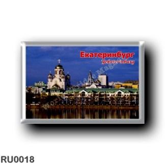 RU0018 Europe - Russia - Yekaterimburg Ekaterinburg - Panorama