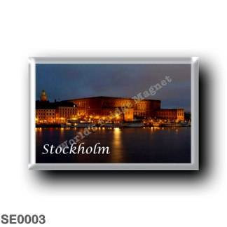 SE0003 Europe - Sweden - Europe - Sweden - Stockholm - By Nigth