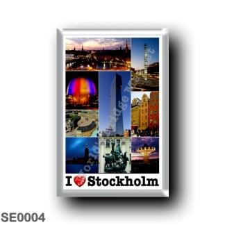 SE0004 Europe - Sweden - Europe - Sweden - Stockholm - I Love