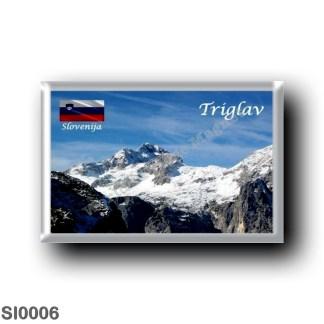 SI0006 Europe - Slovenia - Mount Tricorno - Triglav