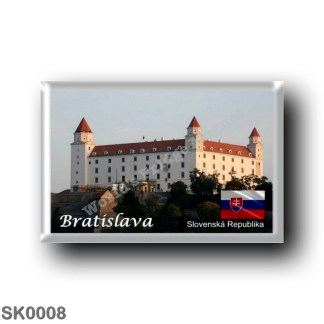 SK0008 Europe - Slovakia - Bratislava - Castello