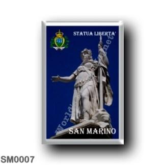 SM0007 Europe - San Marino - Statue of Liberty