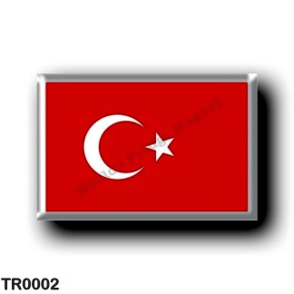 TR0002 Europe - Turkey - Turkish flag