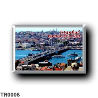 TR0008 Europe - Turkey - Istanbul - Galata bridge