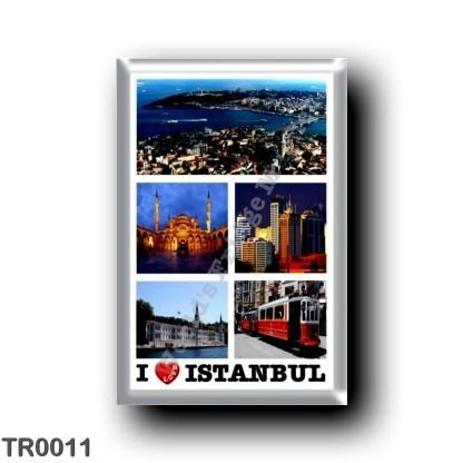 TR0011 Europe - Turkey - Istanbul - I Love