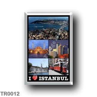 TR0012 Europe - Turkey - Istanbul - I Love