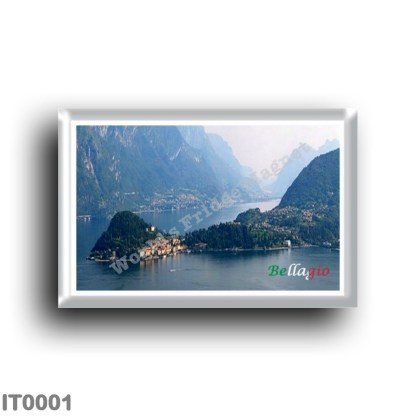 IT0001 Europe - Italy - Lombardy - Lake Como - Bellagio - Promontory