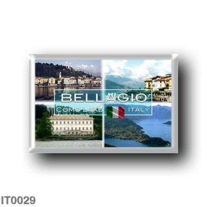 IT0029 Europe - Italy - Lake Como - Bellagio Ferry - View - Villa Melzi - Promontory