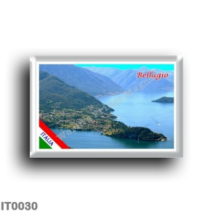 IT0030 Europe - Italy - Lombardy - Lake Como - Bellagio (flag)