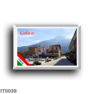 IT0039 Europe - Italy - Lombardy - Lake Como - Colico (flag)