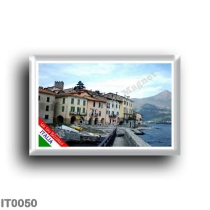 IT0050 Europe - Italy - Lombardy - Lake Como - San Siro Rezzonico (flag)