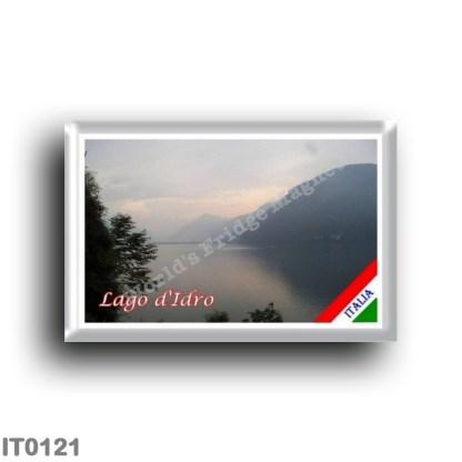 IT0121 Europe - Italy - Idro Lake - View from Tre Capitelli