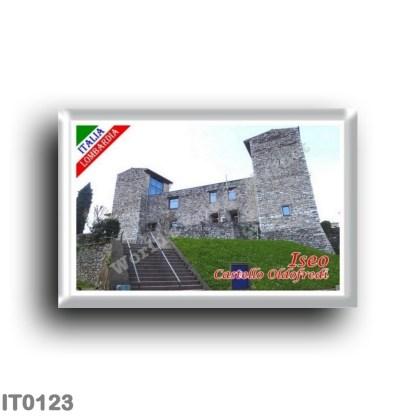 IT0123 Europe - Italy - Lombardy - Lake Sebino - Iseo - Castello Oldofredi