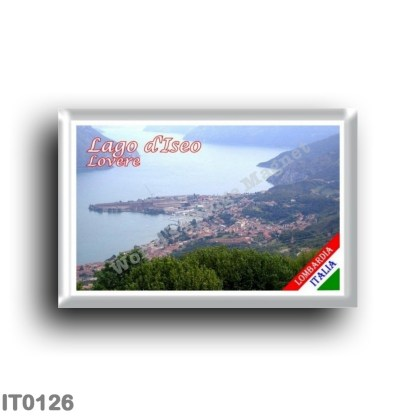 IT0126 Europe - Italy - Lombardy - Lake Iseo - Lovere