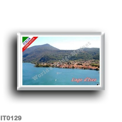 IT0129 Europe - Italy - Lombardy - Lake Iseo - Panorama