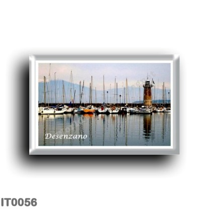 IT0056 Europe - Italy - Lake Garda - Desenzano - The lighthouse