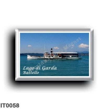IT0058 Europe - Italy - Lake Garda - Lake Garda - Boat