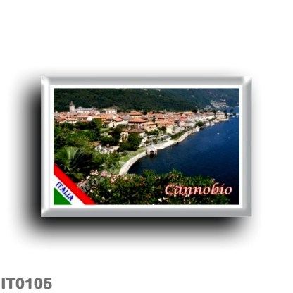 IT0105 Europe - Italy - Lake Maggiore - Cannobio - Panorama