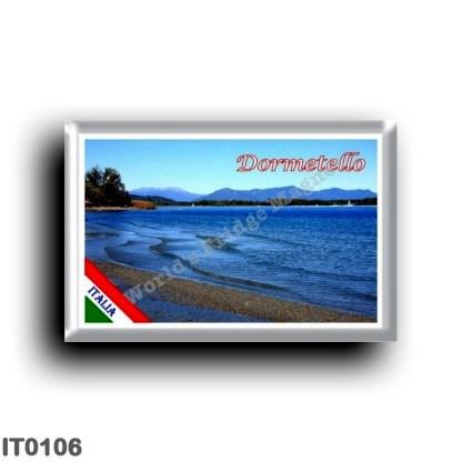 IT0106 Europe - Italy - Lake Maggiore - Dormelletto - Beach