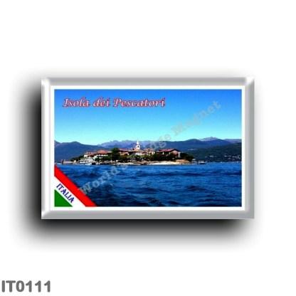 IT0111 Europe - Italy - Lake Maggiore - Fishermen's Island