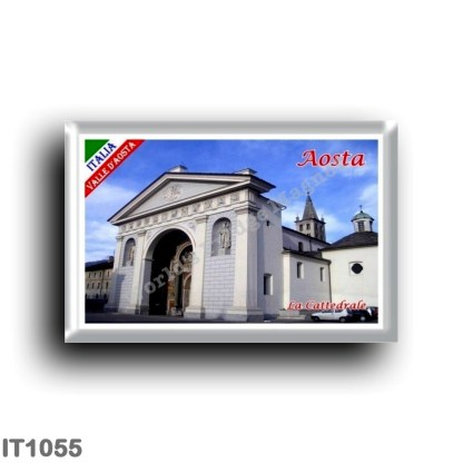 IT1055 Europe - Italy - Valle d'Aosta - Aosta - The Cathedral
