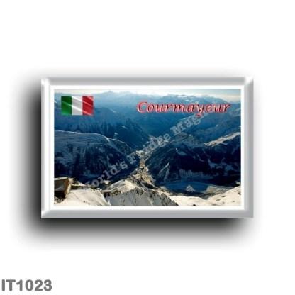 IT1023 Europe - Italy - Valle d'Aosta - Courmayeur - Panorama