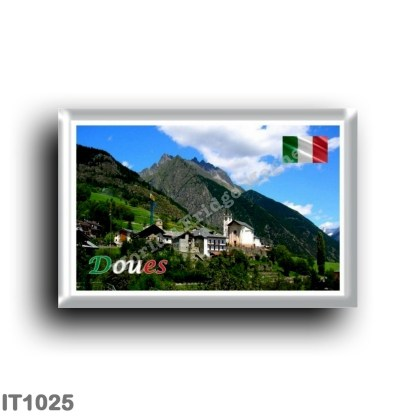 IT1025 Europe - Italy - Valle d'Aosta - Doues
