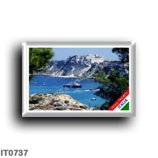 IT0737 Europe - Italy - Puglia - Tremiti Islands Panorama