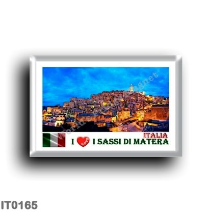 IT0165 Europe - Italy - Basilicata - The Sassi of Matera - I Love