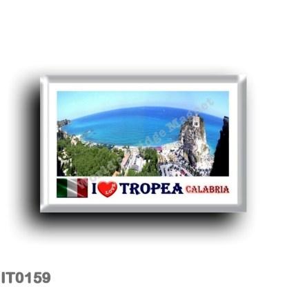 IT0159 Europe - Italy - Calabria - Tropea - I Love