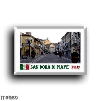IT0989 Europe - Italy - Veneto - San Dona Di Piave - Centro Storico