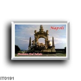 IT0191 Europe - Italy - Campania - Naples - Fontana Del Sebeto