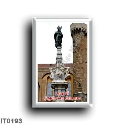 IT0193 Europe - Italy - Campania - Naples - Guglia di San Gennaro