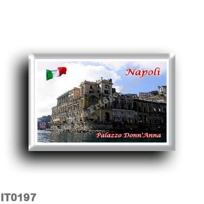 IT0197 Europe - Italy - Campania - Naples - Palazzo Donn'Anna