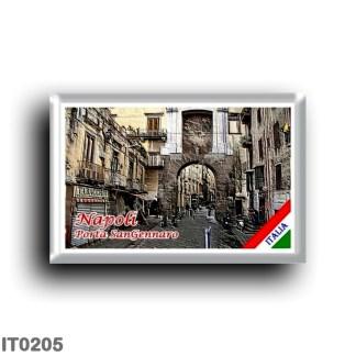 IT0205 Europe - Italy - Campania - Naples - Porta San Gennaro