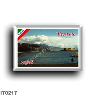 IT0217 Europe - Italy - Campania - Naples - View of Vesuvius