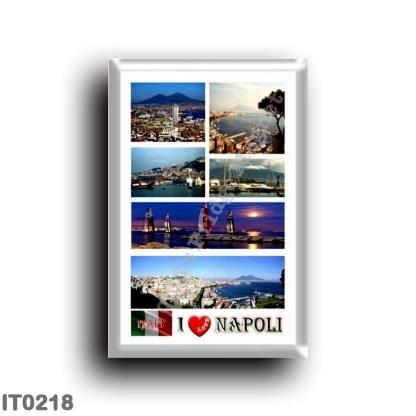 IT0218 Europe - Italy - Campania - Naples - I Love