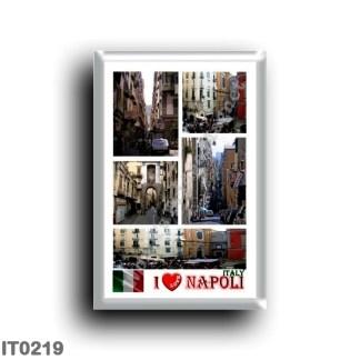 IT0219 Europe - Italy - Campania - Naples - I Love