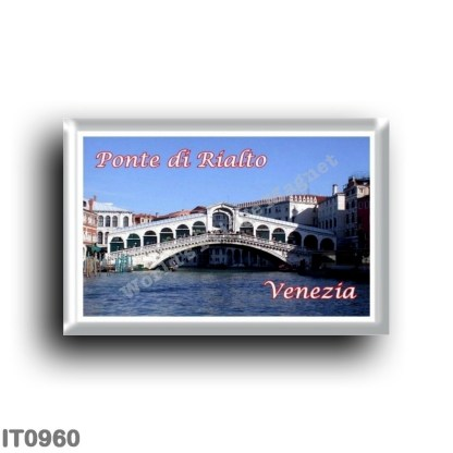 IT0960 Europe - Italy - Venice - Rialto Bridge