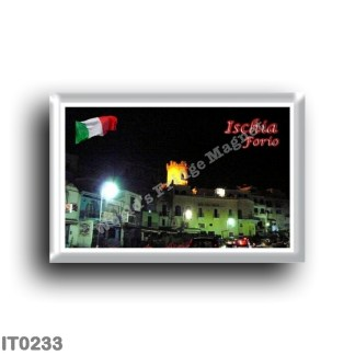 IT0233 Europe - Italy - Campania - Ischia Island - Forio - The Night Tower