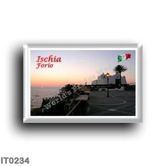 IT0234 Europe - Italy - Campania - Ischia Island - Forio - Church of the Soccorso al Tramonto