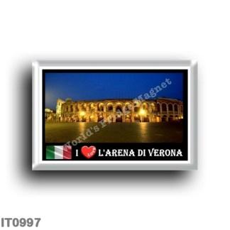IT0997 Europe - Italy - Veneto - Verona - Arena I Love