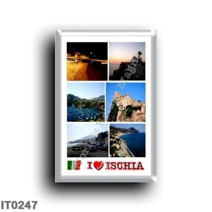 IT0247 Europe - Italy - Campania - Ischia Island - I Love