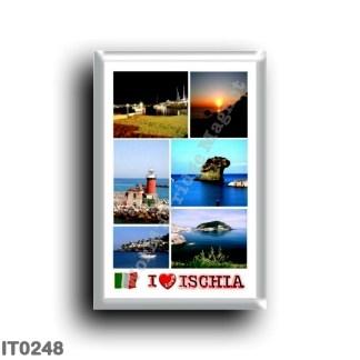 IT0248 Europe - Italy - Campania - Ischia Island - I Love