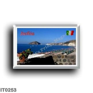 IT0253 Europe - Italy - Campania - Ischia Island - Beach Panorama